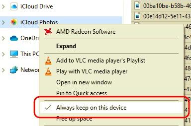 iPhoneからPCにビデオを転送するために常にWindows上でiCloudを維持する